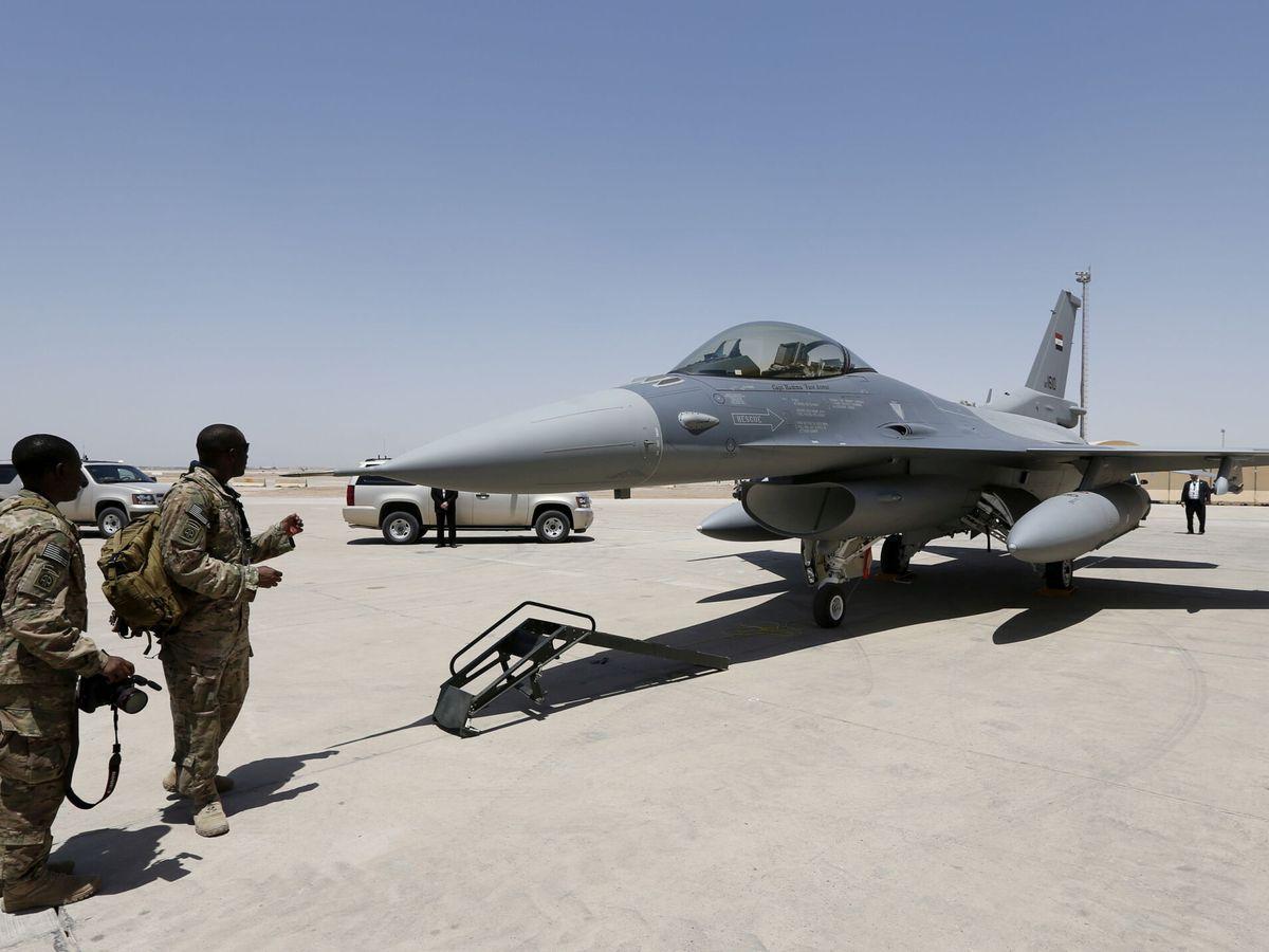 Foto: Foto de archivo, base militar de Balad en Irak. (Reuters)