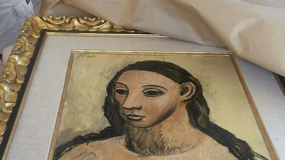 La UCO viaja mañana a Francia a recuperar el cuadro de Picasso  de Botín