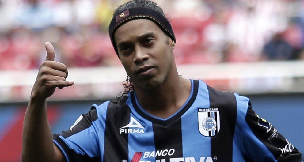 Foto: Ronaldinho podría acabar su etapa en México en menos de cuatro meses (Reuters).