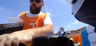 Post de La pillada a un comisario robando una pieza de la moto de Álex Rins en Jerez