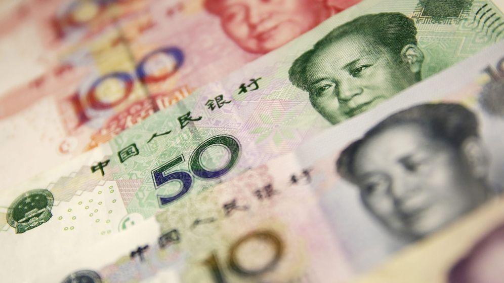 Foto: Billetes de yuan chino. (EFE)