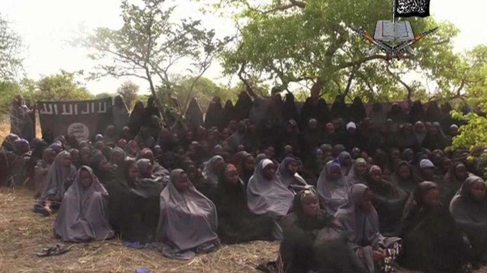 Un vídeo de Boko Haram muestra a varias de las supuestas 'niñas de Chibok'