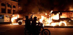 Post de Guerrilla urbana y represión: así ha sido la 'huelga salvaje' de Brasil