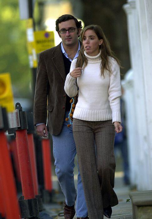 Foto: Ana Aznar y su marido, Alejandro Agag, en una imagen de archivo (I.C.)