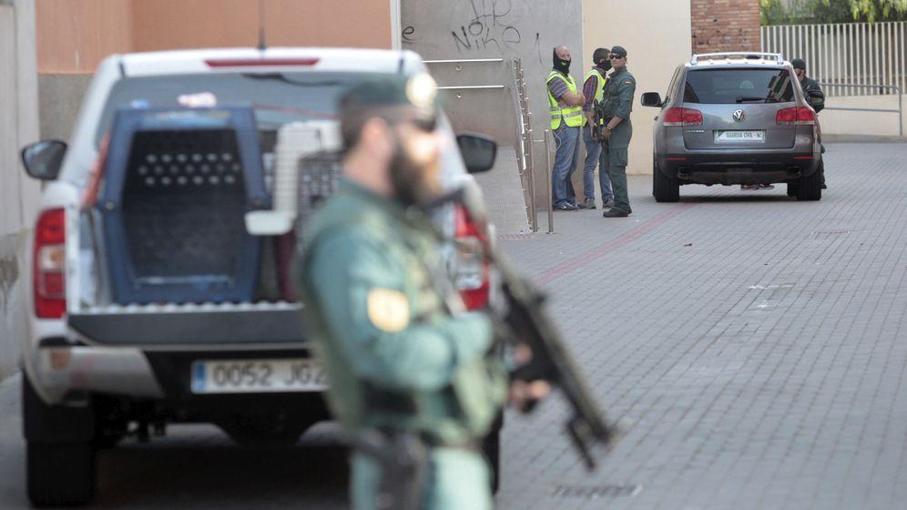 Foto: La Guardia Civil ha detenido hoy en la localidad castellonense de Vinaròs. (EFE)