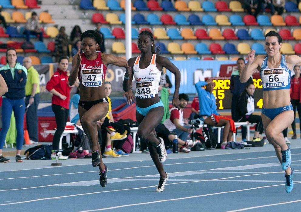 Fatima diame cuerpazo del atletismo