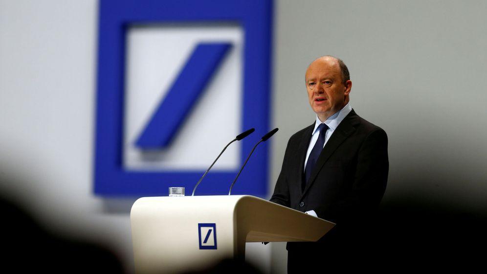 Foto: El CEO de Deutsche Bank, John Cryan