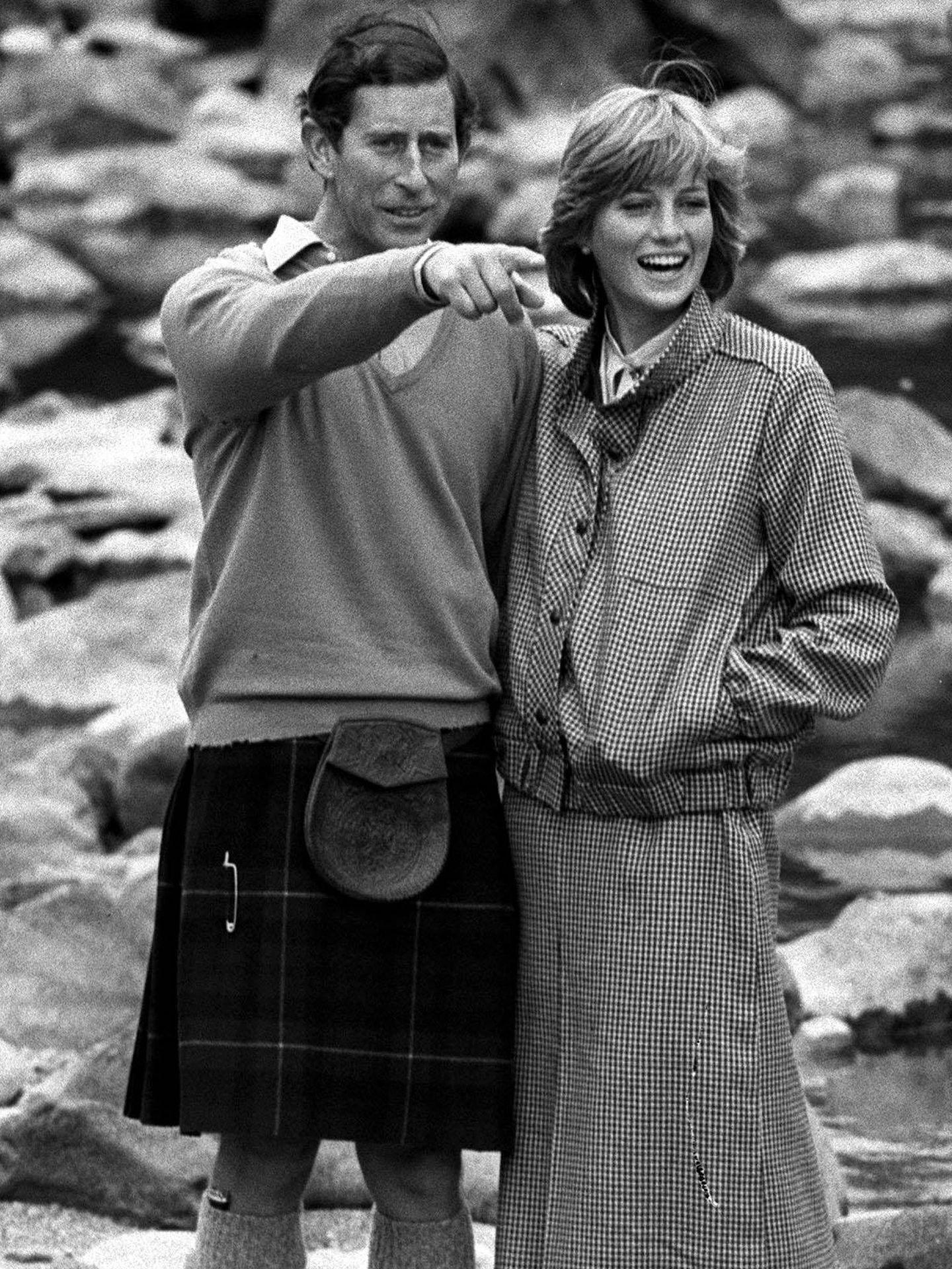 Lady Di y el príncipe Carlos. (Cordon Press)