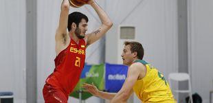 Post de Tres años después, la selección española aún espera que Álex Abrines brille