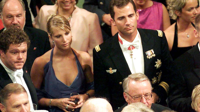 El entonces príncipe Felipe y Eva Sannum.