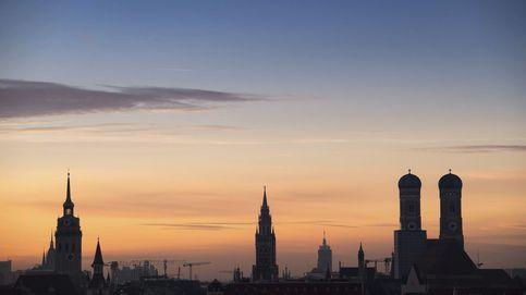 Atardecer en Múnich