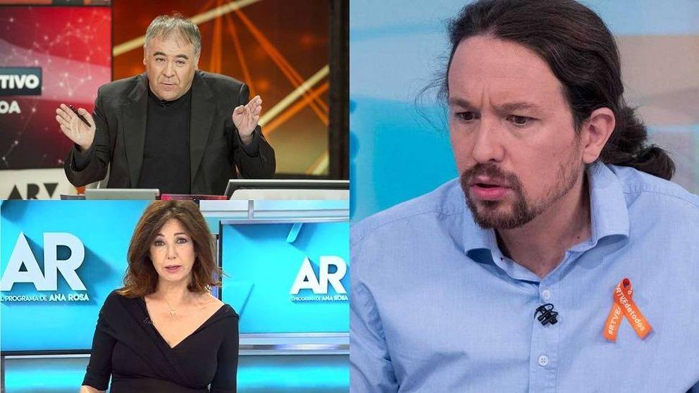 Iglesias, sobre Ferreras y Ana Rosa: Son más poderosos que cualquier ministro