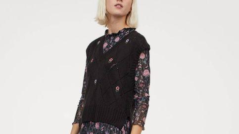 El chaleco de punto con flores bordadas al que no vas a poder resistirte está en H&M