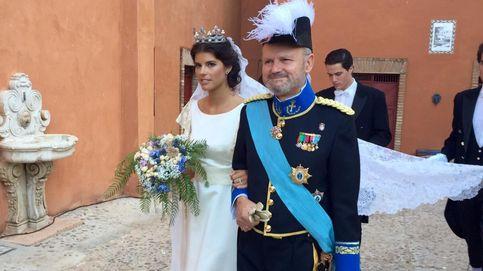 El abogado Javier Saavedra se codea con la aristocracia en la boda de su hijo