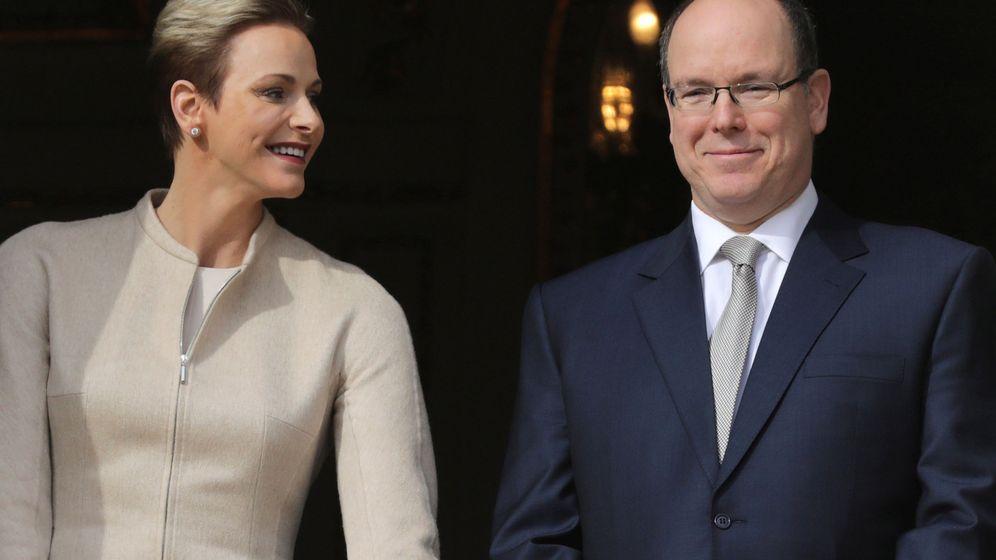 Foto: El príncipe Alberto y la princesa Charlène en una imagen de archivo (Reuters)