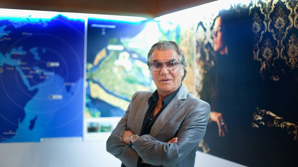 Foto: Cavalli en la conferencia sobre lujo sostenible. (Getty Images)