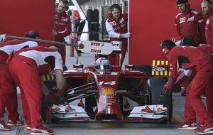 Alonso, por ahora, diez segundos más lento que hace diez años