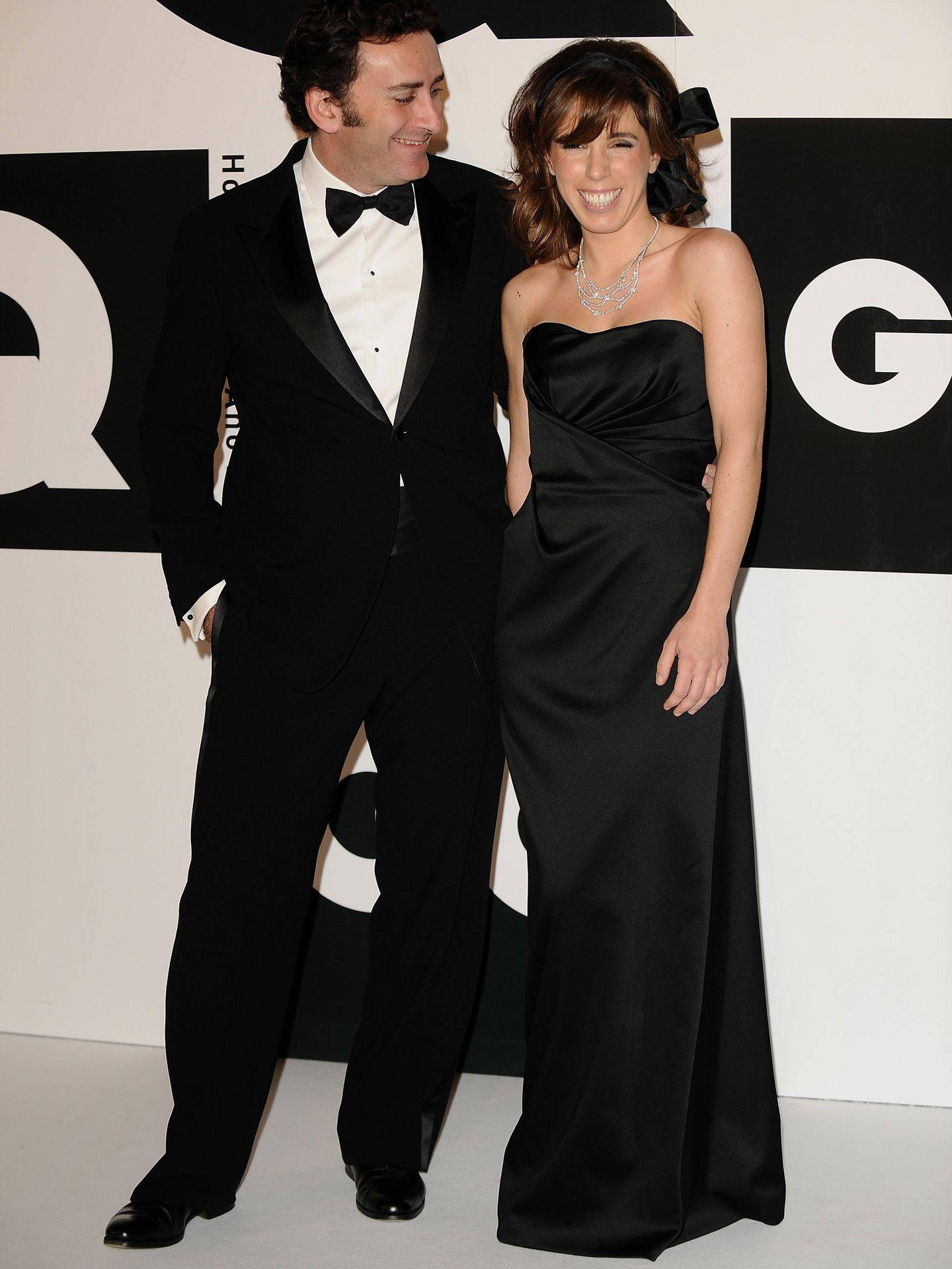 Alejandro Agag y Ana Aznar. (Getty)