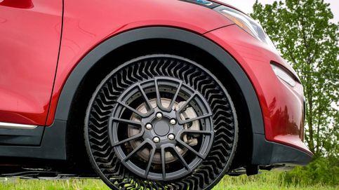 Así es el neumático sin aire que no se pincha y está fabricado con una impresora 3D