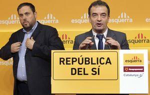 Los últimos de Carod plantan cara a Junqueras para controlar Barcelona
