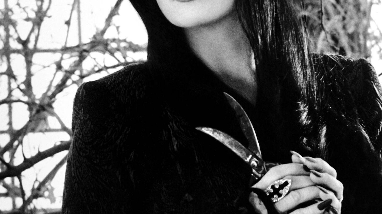 Anjelica Huston, como Morticia Addams. (CP)