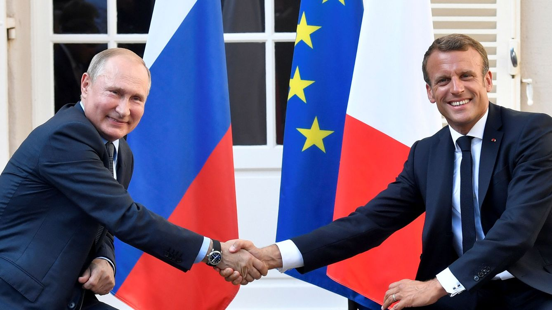 Macron y Putin negocian una posible cumbre sobre Ucrania en París