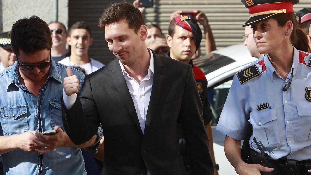 """Messi quiere dejar España: """"Pagó a Hacienda y sigue imputado"""""""