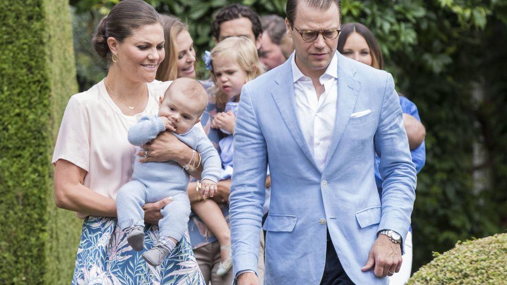 La inusual felicitación navideña de la princesa Victoria de Suecia y su familia