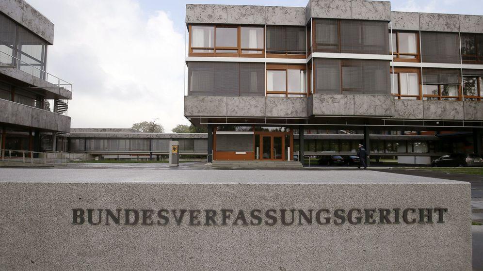 Foto: Vista general del Tribunal Constitucional en Karlsruhe (Alemania). (EFE)