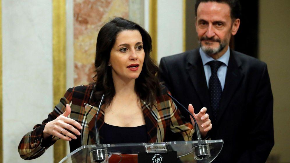 Foto: Edmundo Bal, junto a la líder de Ciudadanos, Inés Arrimadas. (EFE)