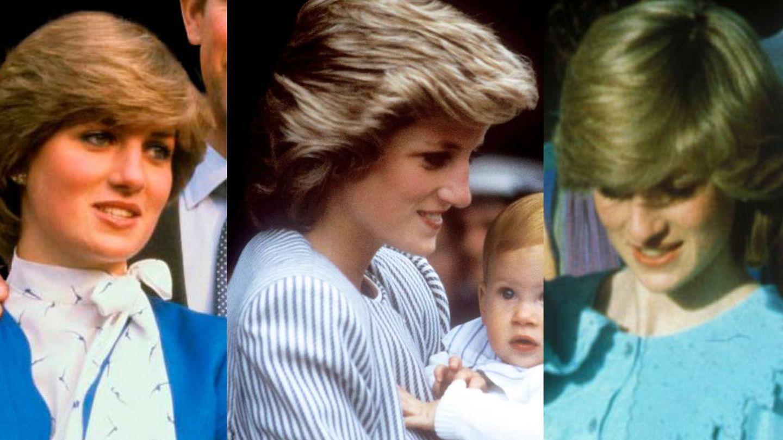 El clásico peinado de Diana de Gales. (Reuters/Cordon Press)