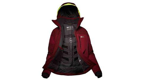 Una chaqueta de esquí con aire acondicionado