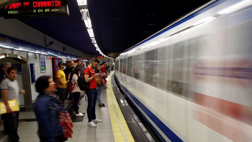 Foto: Paros en Metro Madrid a causa del juicio celebrado por la exposición de aminato de los empleados (EFE)