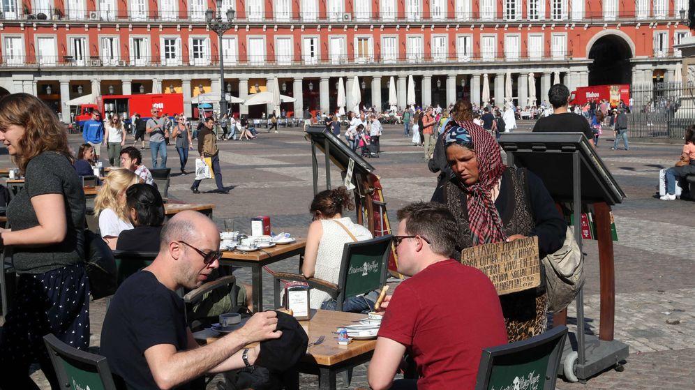 Foto: Plaza Mayor en Semana Santa