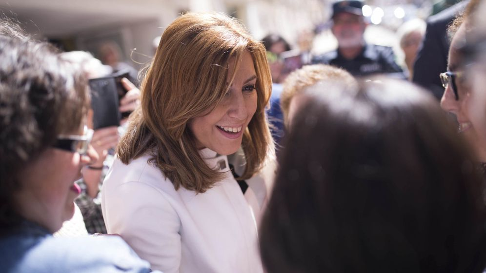 Foto: Susana Díaz, aspirante a secretaria general del PSOE. (EFE)