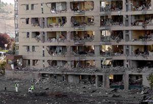 Foto: El Gobierno decreta la situación de emergencia para la casa cuartel atacada por ETA en Burgos