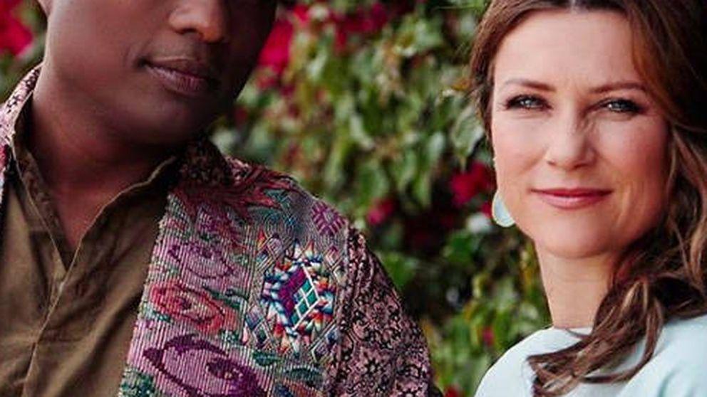 El 'éxtasis' de Marta Luisa de Noruega y su nuevo (y espiritual) novio