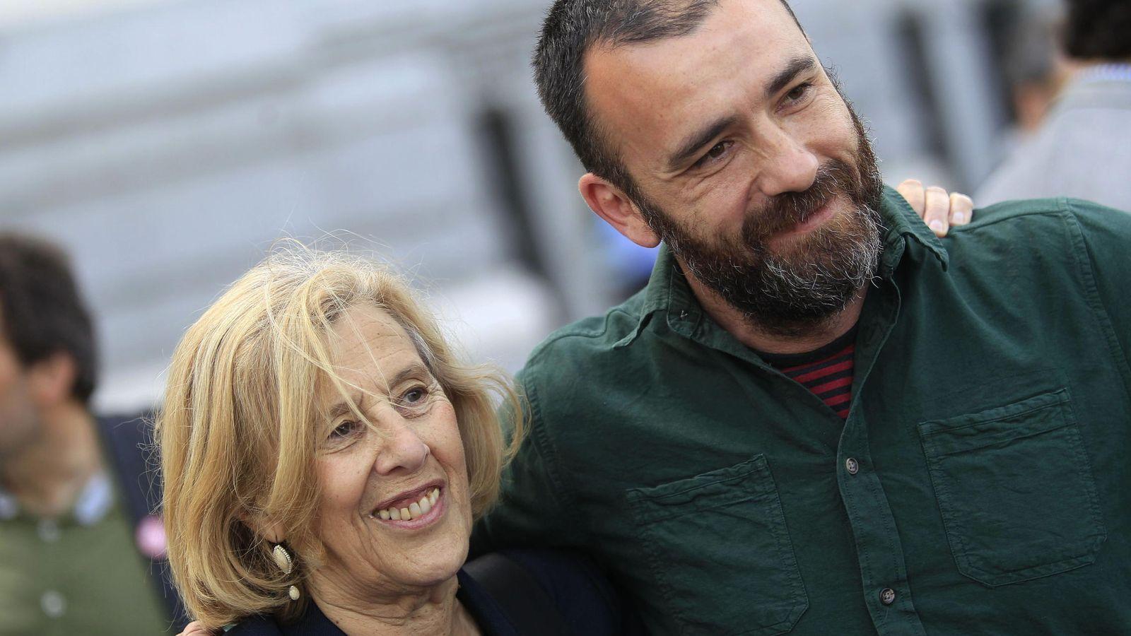 Foto: La alcaldesa Manuela Carmena y el concejal de Coordinación Territorial, Nacho Murgui. (EFE)