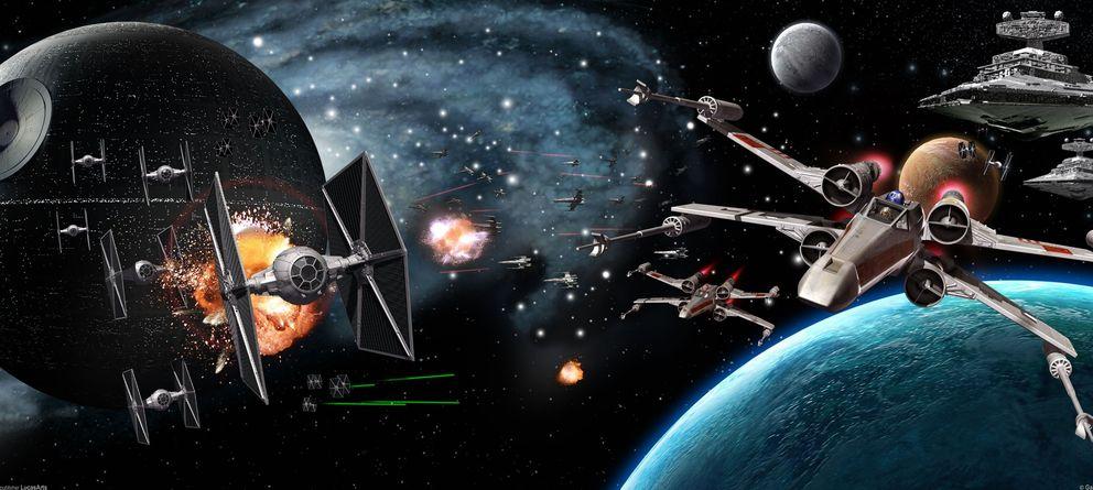 Foto: Explican la teoría detrás de los escudos de fuerza de la Guerra de las Galaxias
