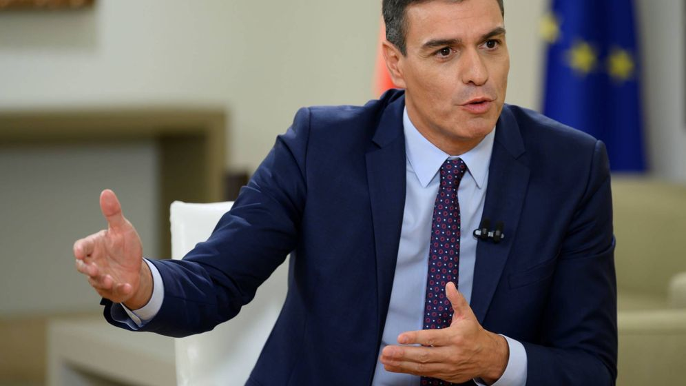 Foto: Pedro Sánchez, durante su entrevista con el periodista Antonio García Ferreras en 'Al rojo vivo' (La Sexta). (Borja Puig de la Bellacasa   Moncloa)