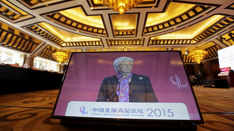 Foto: La directora gerente del FMI, Christine Lagarde