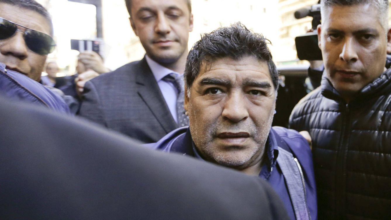 Foto: Diego Armando Maradona en una imagen de archivo (Gtres)