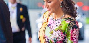Post de Carmen Lomana se viste de Letizia: así lleva el vestido floreado de Japón