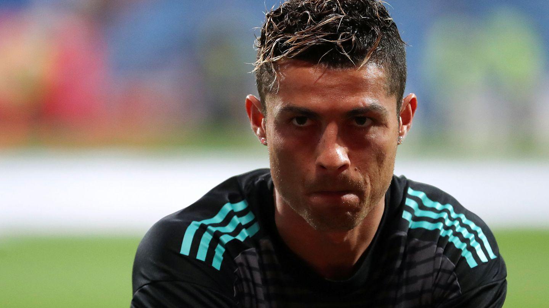 Cristiano Ronaldo antes del Real Madrid-Athletic Club. (Reuters)