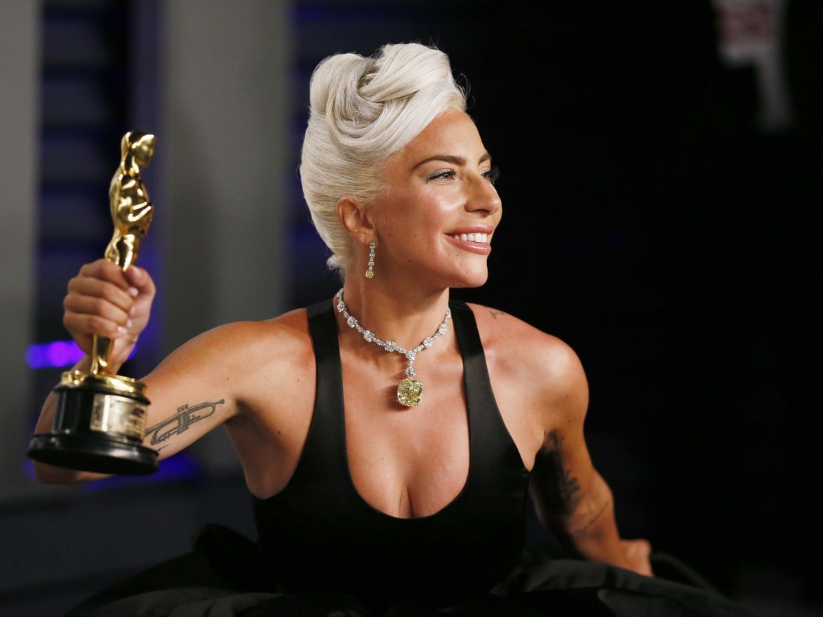 Foto: Lady Gaga, en la entrega de los Ocars. Foto: REUTERS Danny Moloshok