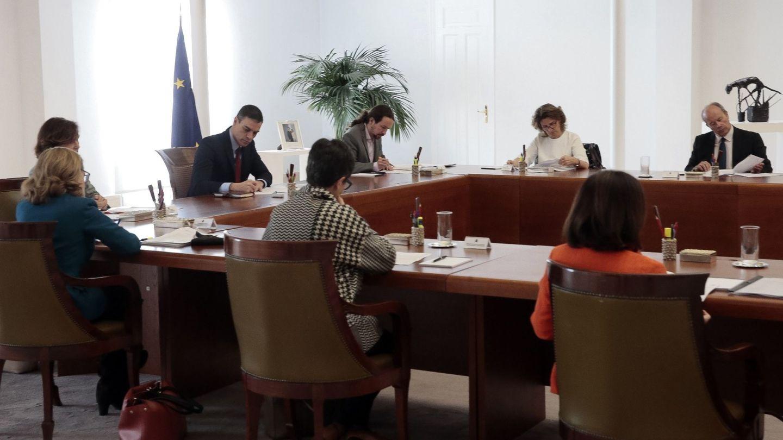 Reunión del Consejo de Ministros celebrada ayer (EFE)