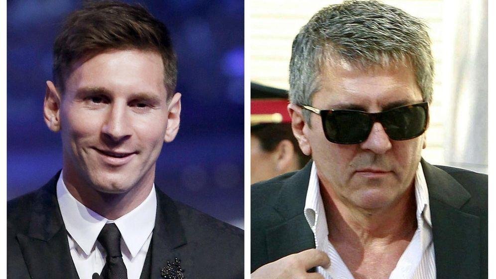 Foto: El juicio a Messi y su padre comienza el próximo martes. (EFE)