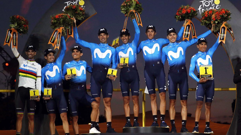 Las sombras de Movistar: por qué el mejor equipo del Tour pecó de individualismo