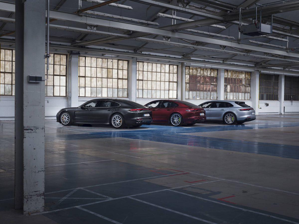 Foto: Los nuevos Panamera híbridos se ofrecen con las tres carrocerías, normal, larga y familiar.