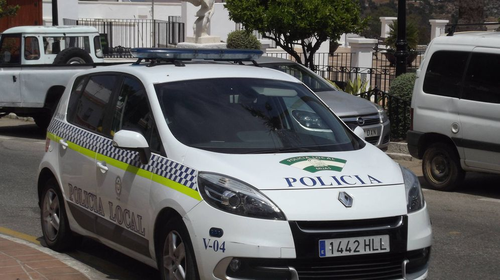 Foto: Policía local en Mijas, Málaga